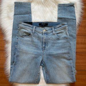 J BRAND Maria High Rise Super Skinny Stretch Jeans